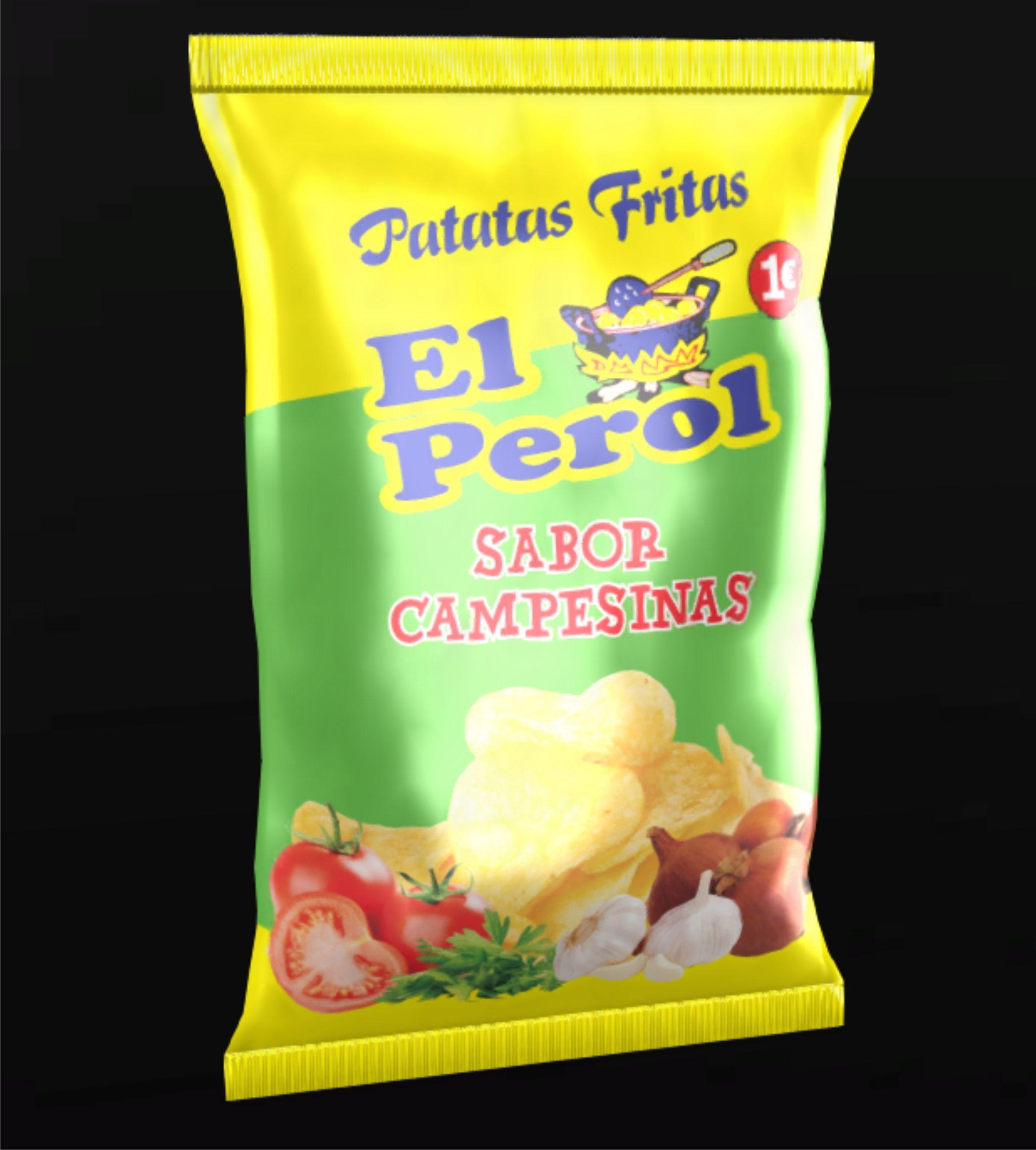 Patatas fritas Campesinas (170grs) Image